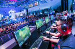 Impressionen von dem E-Sports-Event League of Legends (Riot Games) auf der gamescom 2014.