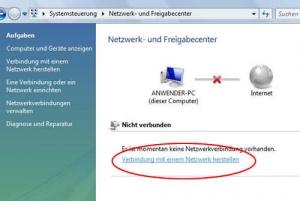 Internetverbindung Mit Windows Vista Herstellen Anleitung