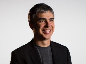Larry Page - CEO & Founder Google. Inc - Bildquelle Google.com
