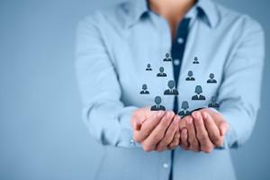 CRM - Vernetzung mit Kunden und Geschäftspartnern
