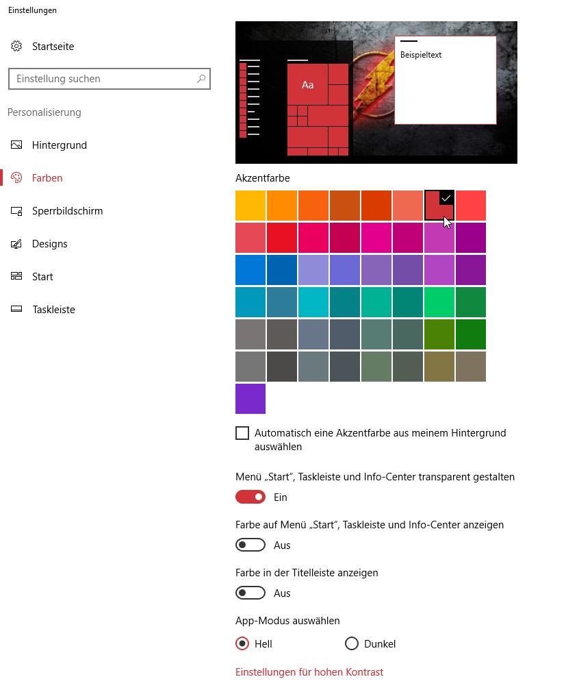 farbeauswahelen