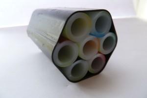 Glasfaserkabel-Modell