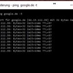 Testen ob ein Host / IP Adresse erreichbar ist durch Ping