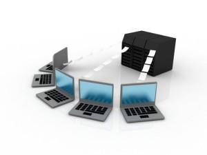 Server Client Netzwerk