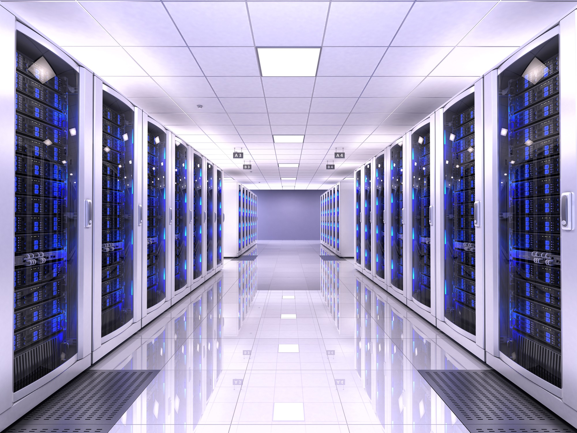 Server im Rechenzentrum