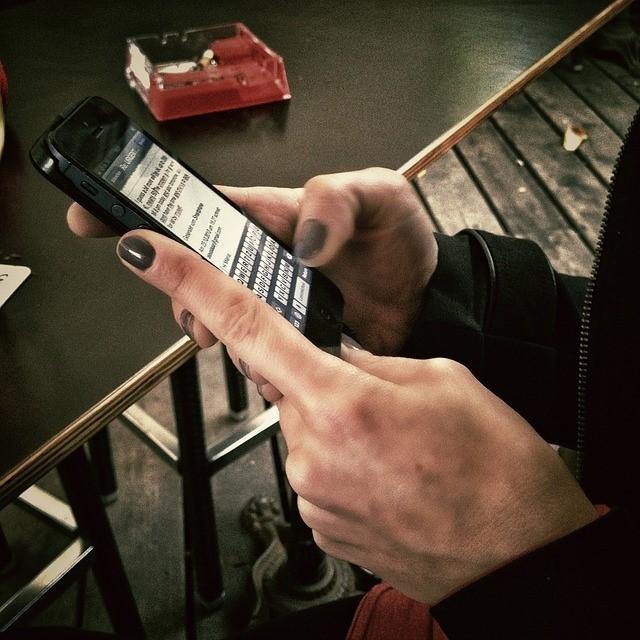smartphone-benutzen