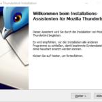 Mozilla Thunderbird der Email Client