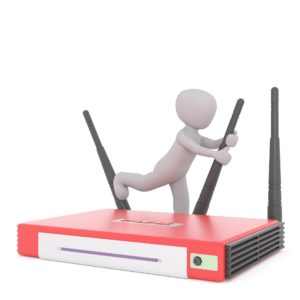 Wlan Router im Heimnetzwerk
